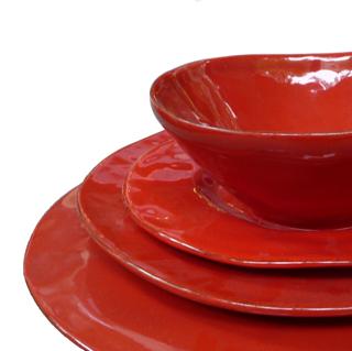 Service de table large choix avec le c dre rouge - Art de la table vaisselle ...