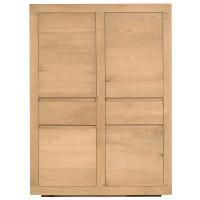 Armoire OAK FLAT d'Ethnicraft, 4 portes / 2 tiroirs