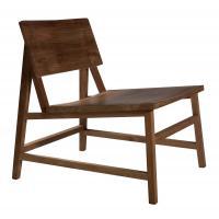 Chaise lounge N2 en teck d'Ethnicraft