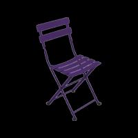 Chaise TOM POUCE de Fermob, 24 coloris
