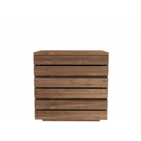 Chevet TECK HORIZON d'Ethnicraft, 3 tiroirs