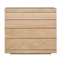 Commode OAK BURGER d'Ethnicraft, 4 tiroirs