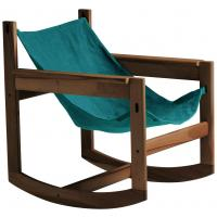 Rocking-chair PELICANO de Objekto, 2 options, 7 coloris