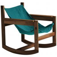 Roking-chair PELICANO de Objekto, 2 options, 7 coloris