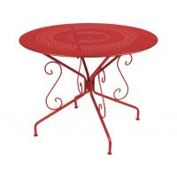 Table MONTMARTRE de Fermob D.96 ou D.117 cm, 22 coloris
