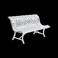 Banc LOUISIANE 150 de Fermob blanc coton