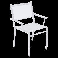 Fauteuil COSTA de Fermob, Blanc Coton