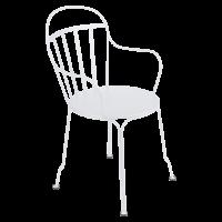 Fauteuil LOUVRE de Fermob, Blanc Coton
