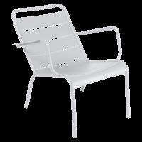 Lounger LUXEMBOURG de Fermob blanc coton