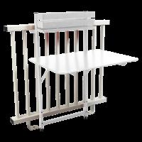 Table balcon BISTRO de Fermob, Blanc coton