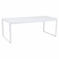 Table BELLEVIE de Fermob blanc coton