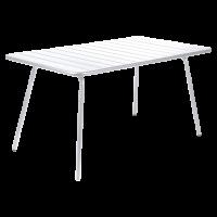 Table LUXEMBOURG pour 6 personnes de Fermob, Blanc coton