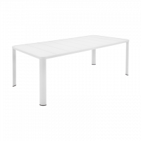 Table  OLÉRON de Fermob, Blanc coton
