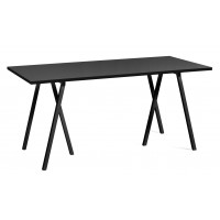 Table rectangulaire LOOP STAND de Hay, 4 tailles, 3 coloris