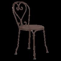 Chaise 1900 de Fermob, Rouille