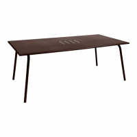 Table haute MONCEAU de Fermob, 194x94x74, Rouille