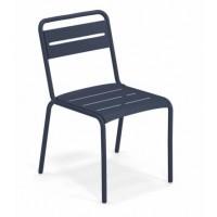 Chaise STAR de Emu, Bleu foncé