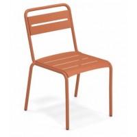 Chaise STAR de Emu, Rouge d