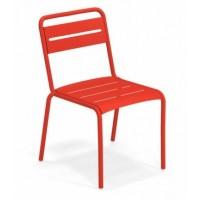 Chaise STAR de Emu, Rouge écarlate