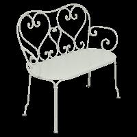 Banquette 1900 de Fermob, Gris argile