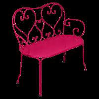 Banquette 1900 de Fermob, Rose praline