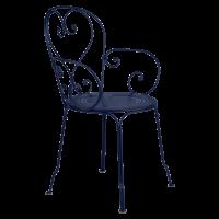 Fauteuil 1900 de Fermob, Bleu abysse
