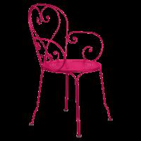 Fauteuil 1900 de Fermob, Rose praline