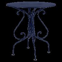Guéridon 1900 Fermob, Bleu abysse