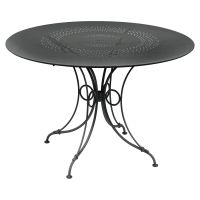 Table 1900 de Fermob D. 117 Carbone
