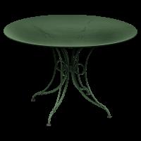 Table 1900 de Fermob D.117, Cèdre
