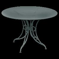 Table 1900 de Fermob D.117, Gris Orage