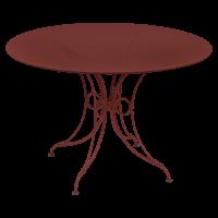 Table 1900 de Fermob D.117 piment