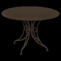 Table 1900 de Fermob D.117 rouille