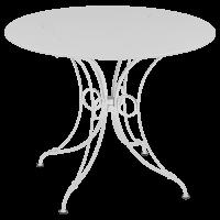 Table 1900 de Fermob D.96, Blanc