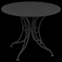 Table 1900 de Fermob D. 96 Carbone