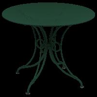 Table 1900 de Fermob D.96, Cèdre