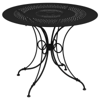 Table 1900 Fermob D.96, Noir Réglisse