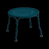 Table basse 1900 de Fermob, bleu acapulco