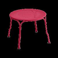 Table basse 1900 de Fermob, Rose praline