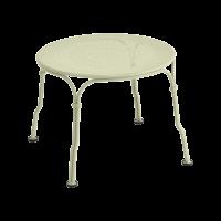 Table basse 1900 de Fermob, Tilleul