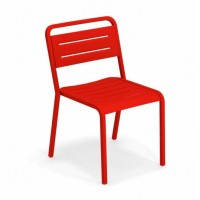 Chaise URBAN de Emu, Rouge écarlate