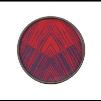 Plateau MIDNIGHT LINEAR CIRCLES de Ethnicraft Accessories, Ø20