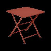 Table basse Enfant TOM POUCE 50 x 50 CM de Fermob, ocre rouge