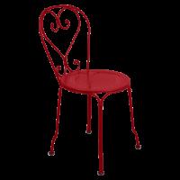 Chaise 1900 de Fermob, Coquelicot