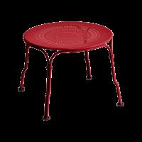 Table basse 1900 de Fermob, Coquelicot