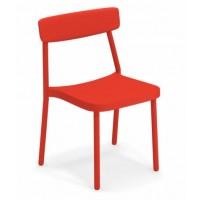 Chaise GRACE de Emu, Rouge écarlate