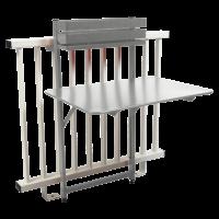 Table balcon BISTRO de Fermob, Gris métal