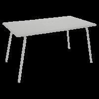 Table haute MONCEAU de Fermob, 146x80x74, Gris métal