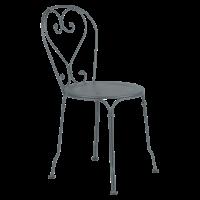 Chaise 1900 de Fermob, Gris Orage