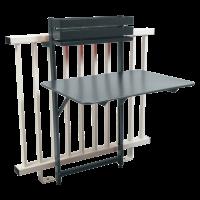 Table balcon BISTRO de Fermob, Gris orage